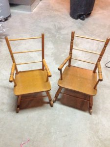 chairs brown