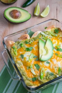 Chicken and Avocado Enchiladas in Creamy Avocado Sauce 500 1143