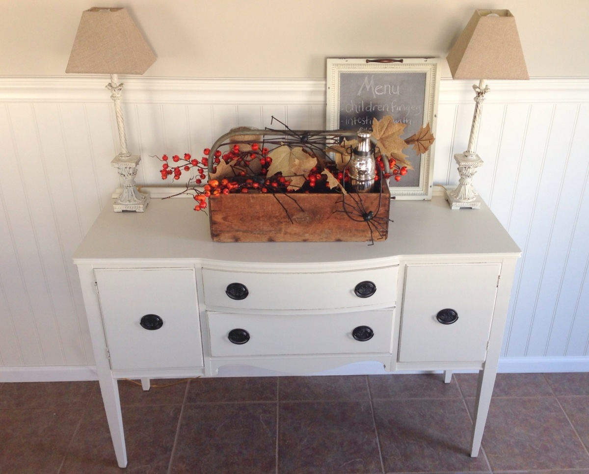 General Finishes Antique White Buffet